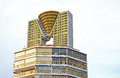 Towering above the new golden tower in benidorm towers the other buildings Royalty Free Stock Images