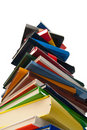 Towering Books Royalty Free Stock Images