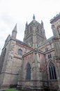 The towering cathedral Royalty Free Stock Photos