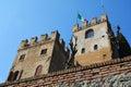 Towers of Castello in Conegliano, Veneto, Italy Royalty Free Stock Photo