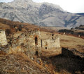 Towers of ingushetia ancient architecture and ruins a Stock Images