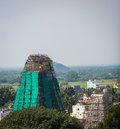 Towers of lord bhakthavatsaleswara r temple city chengalpet india tamil nadu province Royalty Free Stock Image