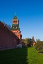 The towers Moscow Kremlin Royalty Free Stock Photo
