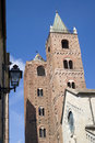 Towers old town albenga liguria italy Royalty Free Stock Images