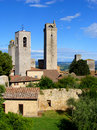 Towers of Tuscany Stock Photos