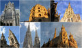 Towers in Vienna Stock Image