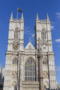 Towers of westminster abbey in london uk Royalty Free Stock Photo