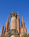 Towers of Wiesbaden Royalty Free Stock Image