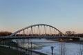 Towm Street  Bridge in Columbus, Ohio Royalty Free Stock Photo