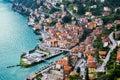 Town of Argegno, Lake Como, Italy Royalty Free Stock Photo