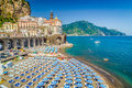 Town of Atrani, Amalfi Coast, Campania, Italy Royalty Free Stock Photo