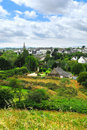 Town of Carnac in Brittany Stock Photo