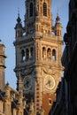Town clock. Royalty Free Stock Photo