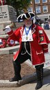 National Town Crier Competition held Exmouth Devon in South West England Summer 2018 Royalty Free Stock Photo