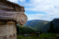 The town of Delphi in Greece