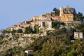 The town of Eze Royalty Free Stock Image