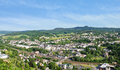 Town Gerolstein, Germany in summer day Royalty Free Stock Photo