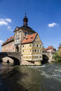 Town hall in bamberg germany the old Stock Photography