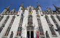 Town Hall Bruges Stock Images