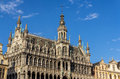 Town hall of brussels belgium Royalty Free Stock Image