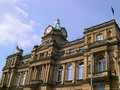 Town hall in burnley lancashire is a large post industrial market england with a population of around it lies at the confluence of Royalty Free Stock Photo