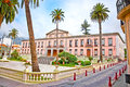 Town hall in the center of la orotava tenerife spain canary islands Royalty Free Stock Photography