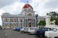 Town Hall of Cienfuegos on Cuba Royalty Free Stock Photo