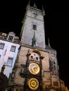 The town hall clock tower of t Royalty Free Stock Image