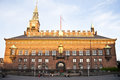 Town hall copenhagen of in denmark Royalty Free Stock Photography