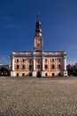 Town Hall in Leszno Royalty Free Stock Photo