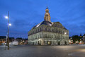 Town hall of maastricht netherlands september on the market square in netherlands on september the building was erected in Stock Photography