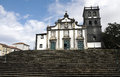 Town hall of ribeira grande azores islands portugal Stock Photos