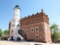 Town hall, Sandomierz, Poland Stock Photo