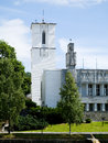 The Town Hall of Sandvika, Norway Stock Photography