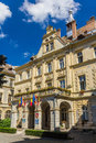 Town hall of sighisoara transylvania romania Stock Image