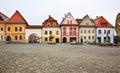 Town Hall square (Radničné námestie) in Bardejov