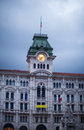 Town hall, Trieste Royalty Free Stock Photo