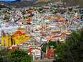Town on the Hill Stock Photo