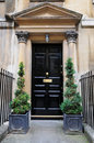 Town House Front Door Royalty Free Stock Photo