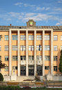 Town house in Presov. Slovakia Royalty Free Stock Photo