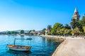 Town Kastela in suburb of Split, Croatia. Royalty Free Stock Photo