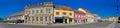 Town of koprivnica main square panorama podravina region croatia Royalty Free Stock Images