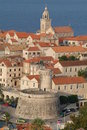 The town of Korcula, Croatia Stock Photography