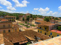 Town Landscape, Cuba Royalty Free Stock Photos