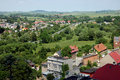 Town landscape in Poland Royalty Free Stock Photos