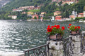 The town of Menaggio, Lake Como, Italy Royalty Free Stock Photography