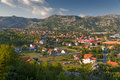 Town in Montenegro Royalty Free Stock Images