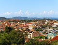 Town of palau view to the from hill Stock Images