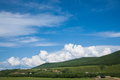 And the town of riverside prairie amount ergunaen inner mongolia hulunbeier towns Stock Images