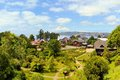 Town settled by german immigrants frutillar former settlement in lake district patagonia southern chile Stock Photography